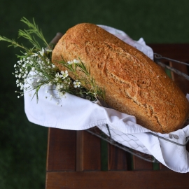 Pan integral de centeno y espelta  450gr