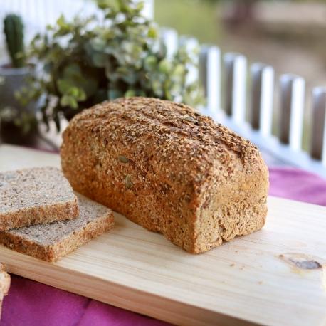 Pan de espelta integral 3 semillas (500gr)
