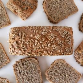 Pan de espelta integral con semillas de girasol 500gr